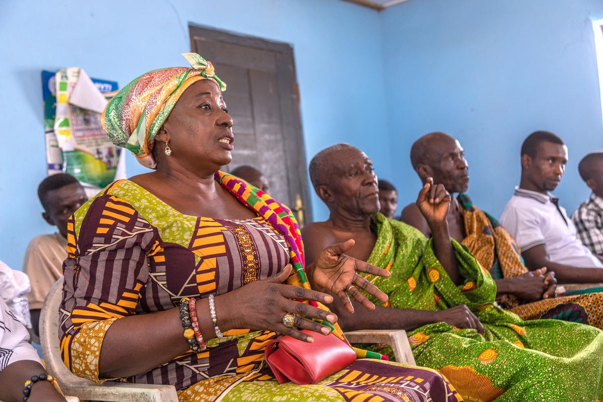 Rotary-USAID Ghana WASH partnership - Abutia Teti